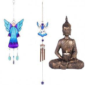Engle, Buddhaer, vindspil m.m.